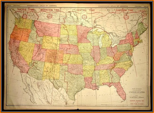 United States Wall Maps For Sale