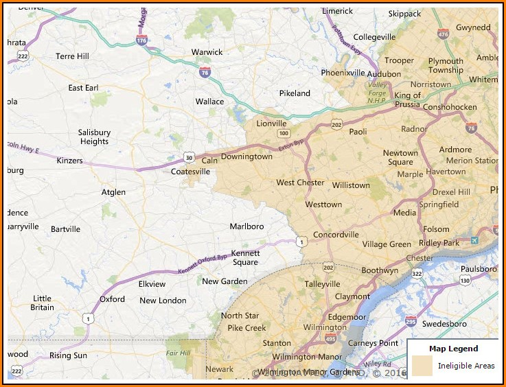 Usda Home Loan Map Indiana