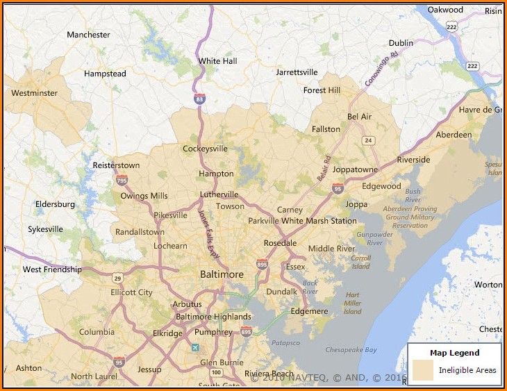 Usda Home Loan Map Maryland
