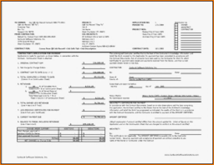 Aia Billing Form