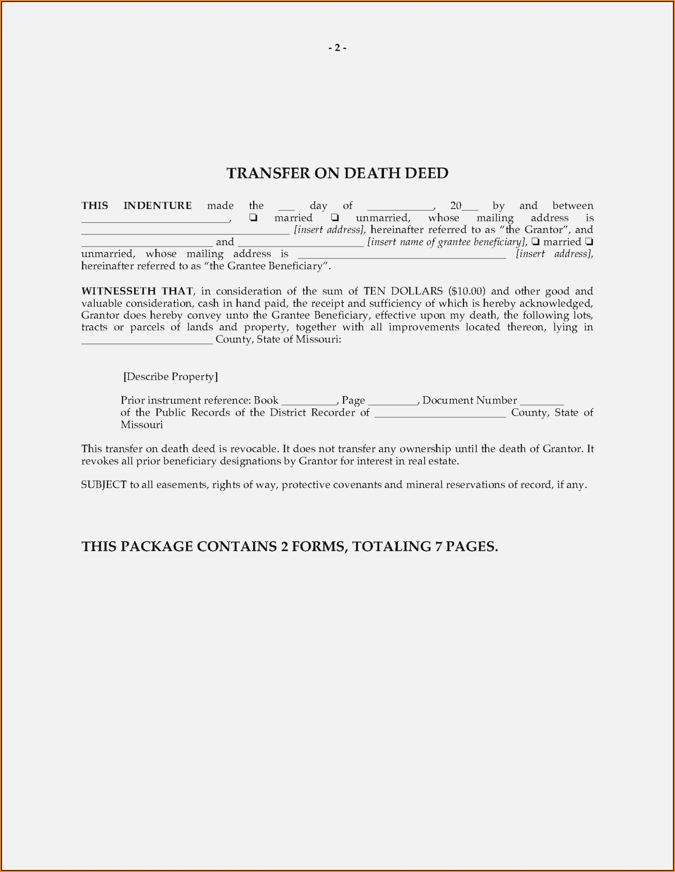 Arizona Beneficiary Deed Form