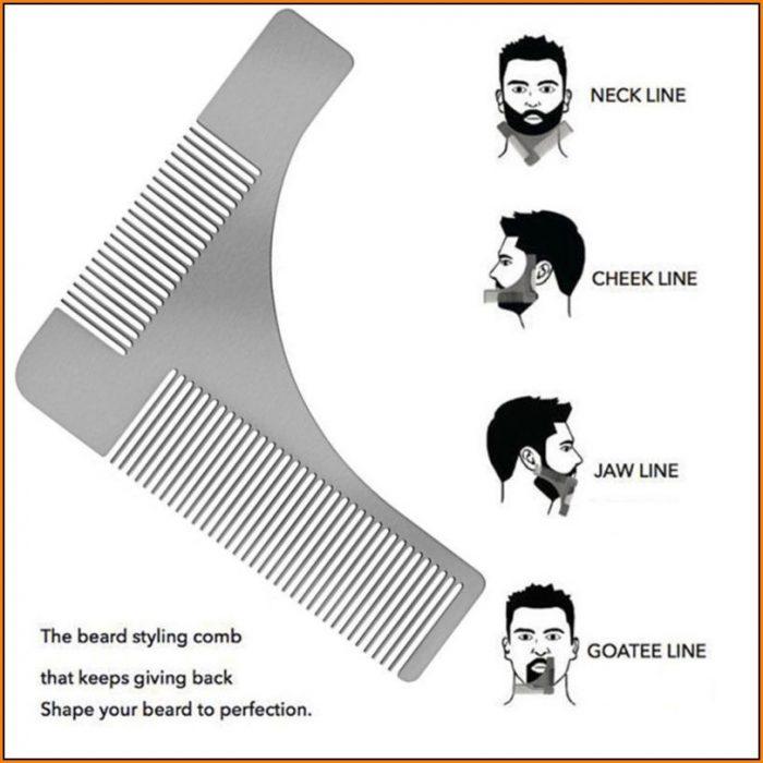 Beard Shaving Template
