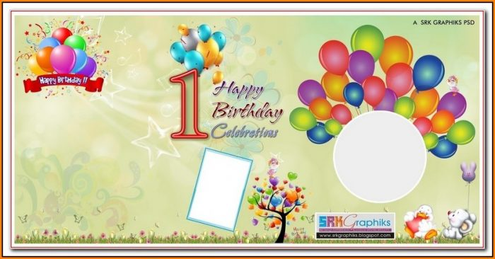 Birthday Banner Template Photoshop