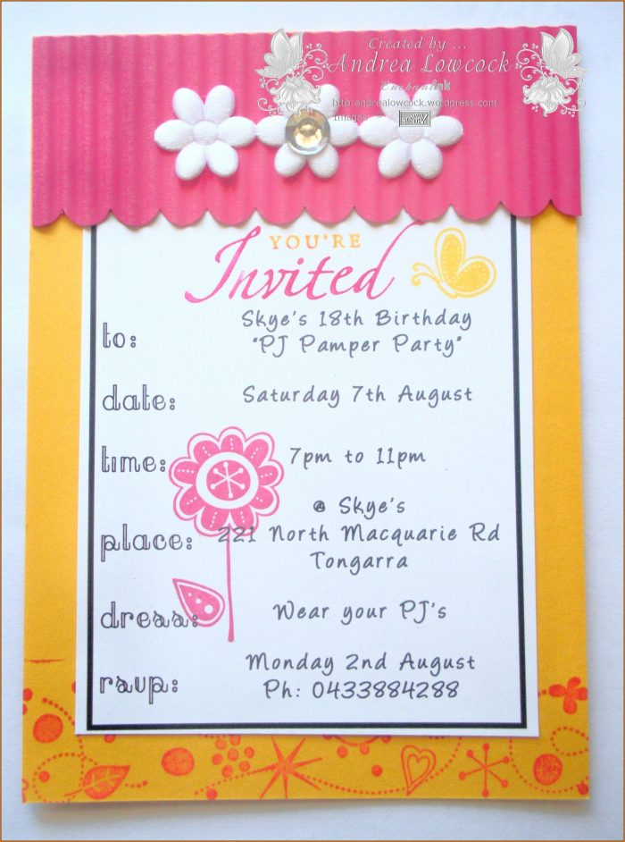 Birthday Invitation Card Template In Marathi