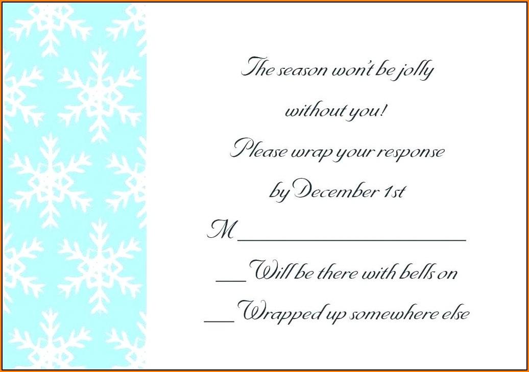 Blank Farewell Invitation Template