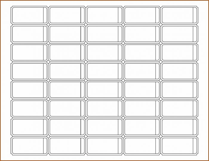 Blank Ticket Template Pdf