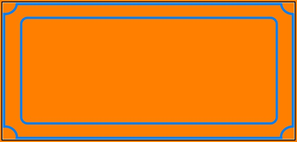 Blank Ticket Template Png