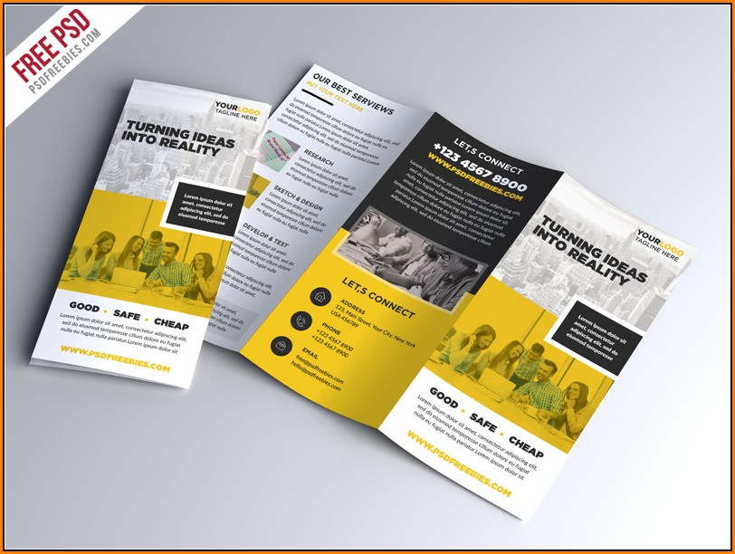 Business Brochure Templates Psd