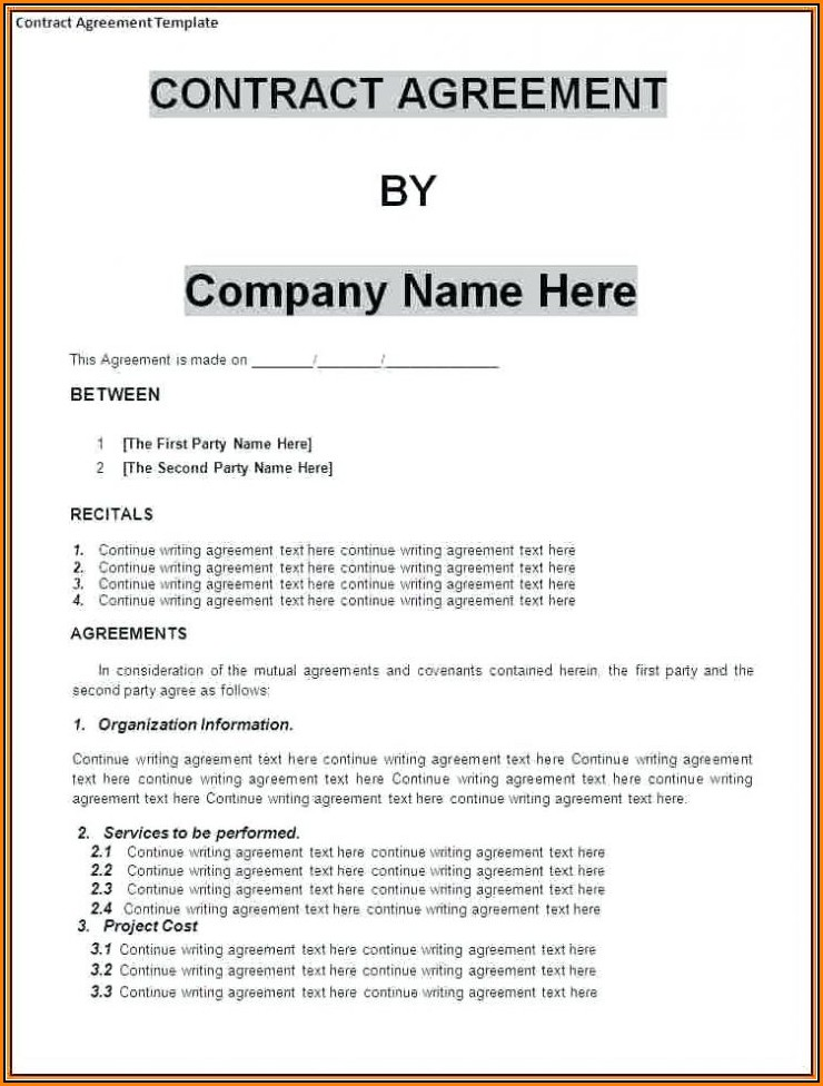 Business Partnership Agreement Template Uk Template 1 Resume