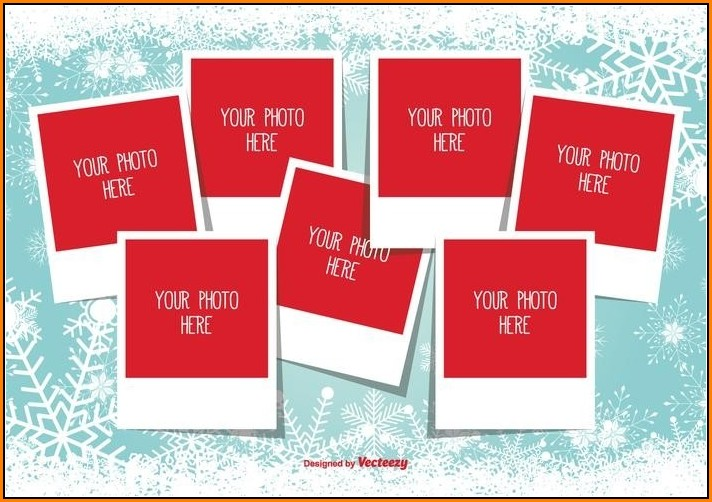 Christmas Photo Collage Templates Free