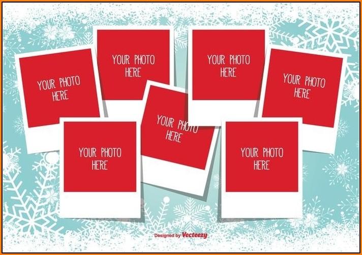 Christmas Photo Collage Templates Free
