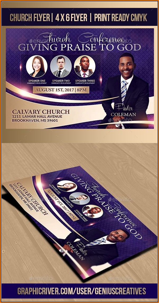 Church Flyer Design Templates