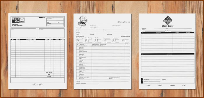 Custom Carbon Copy Forms