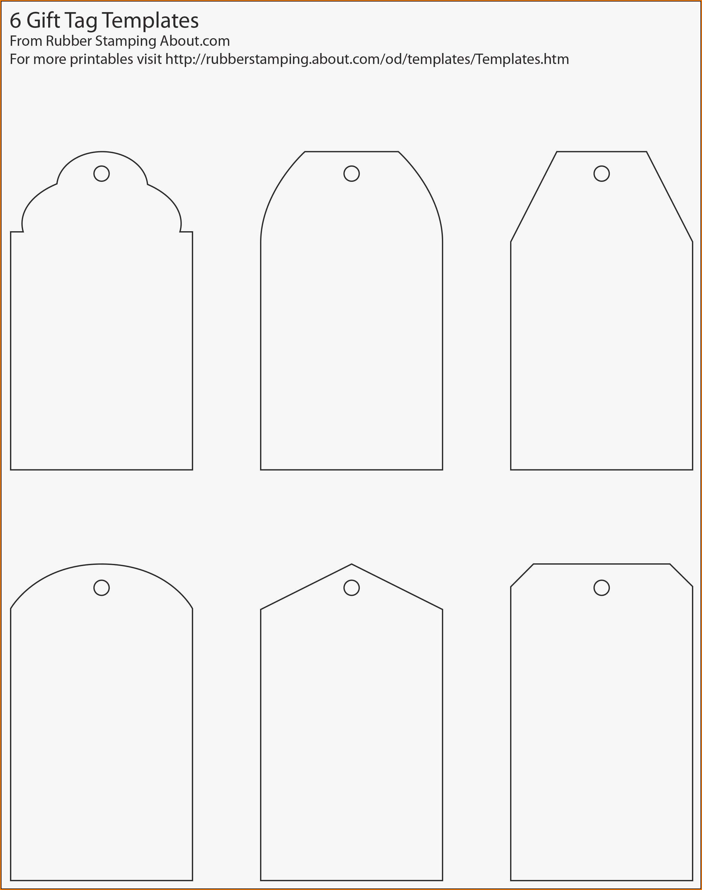 Divider Tabs Template