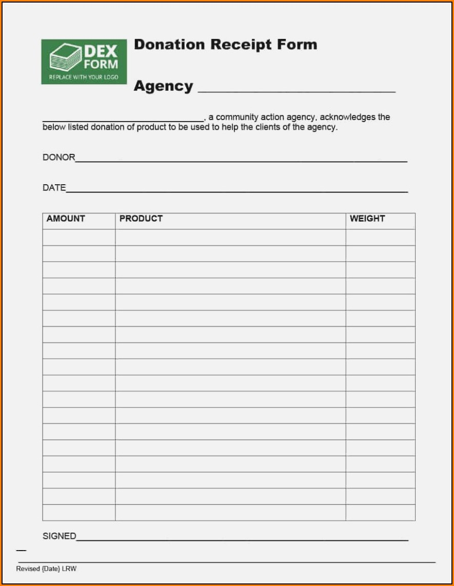 Donation Forms For Nonprofits