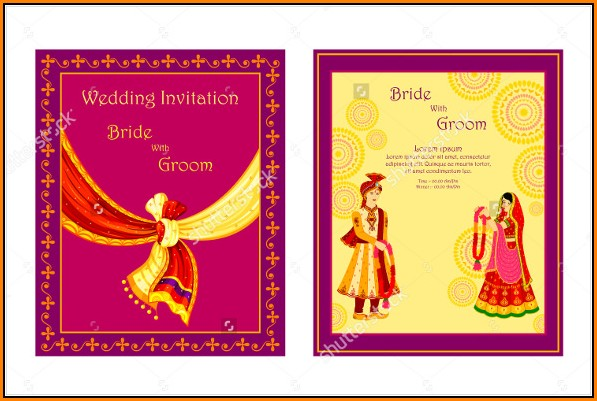 Editable Traditional Wedding Invitation Templates Free Download