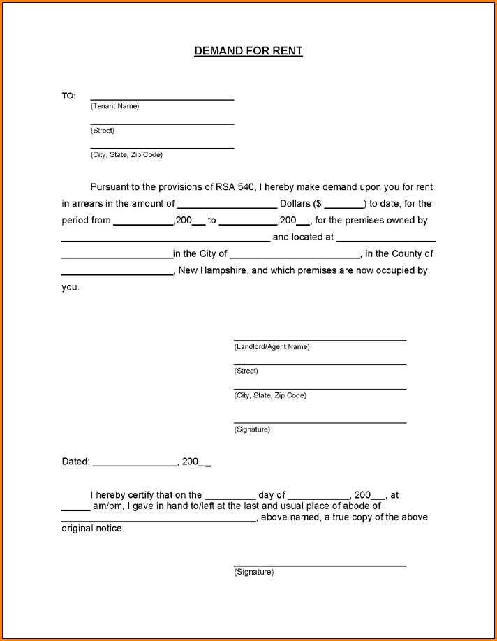Eviction Notice Forms Online