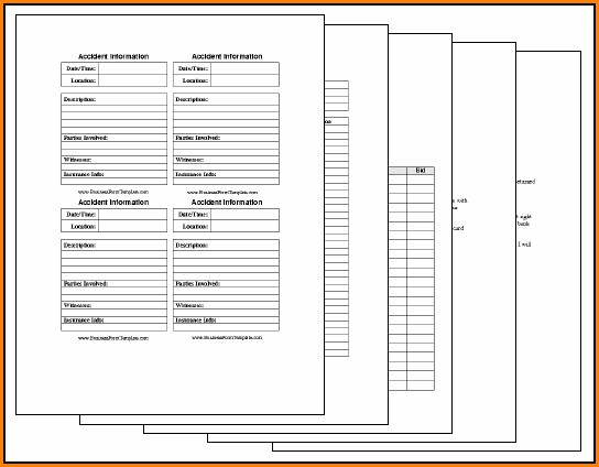 Free Printable Business Forms Templates