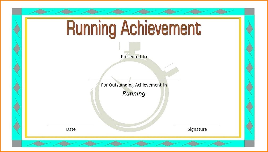 Fun Run Waiver Template