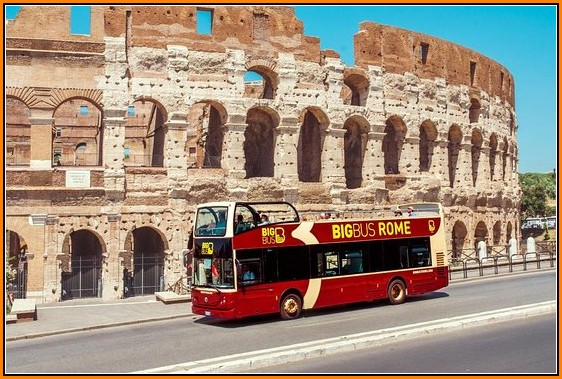 Hop On Hop Off Rome Map 2018