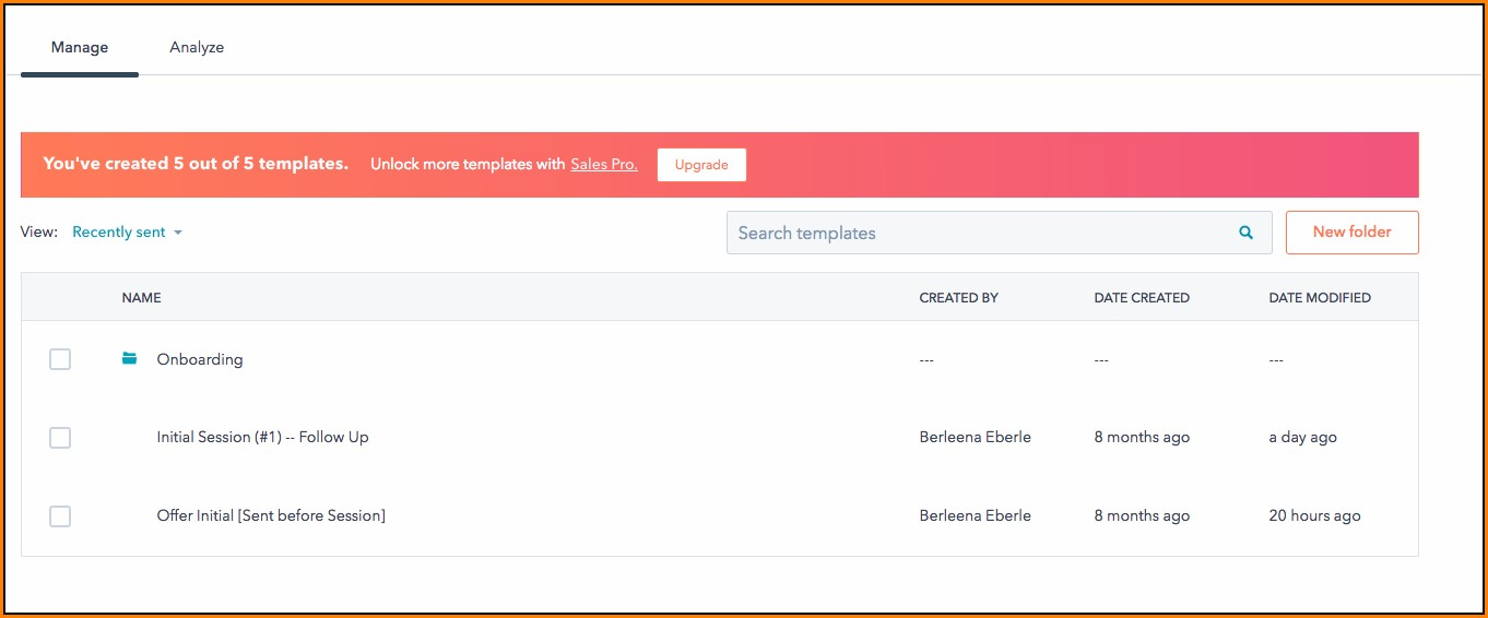 Hubspot Free Email Templates