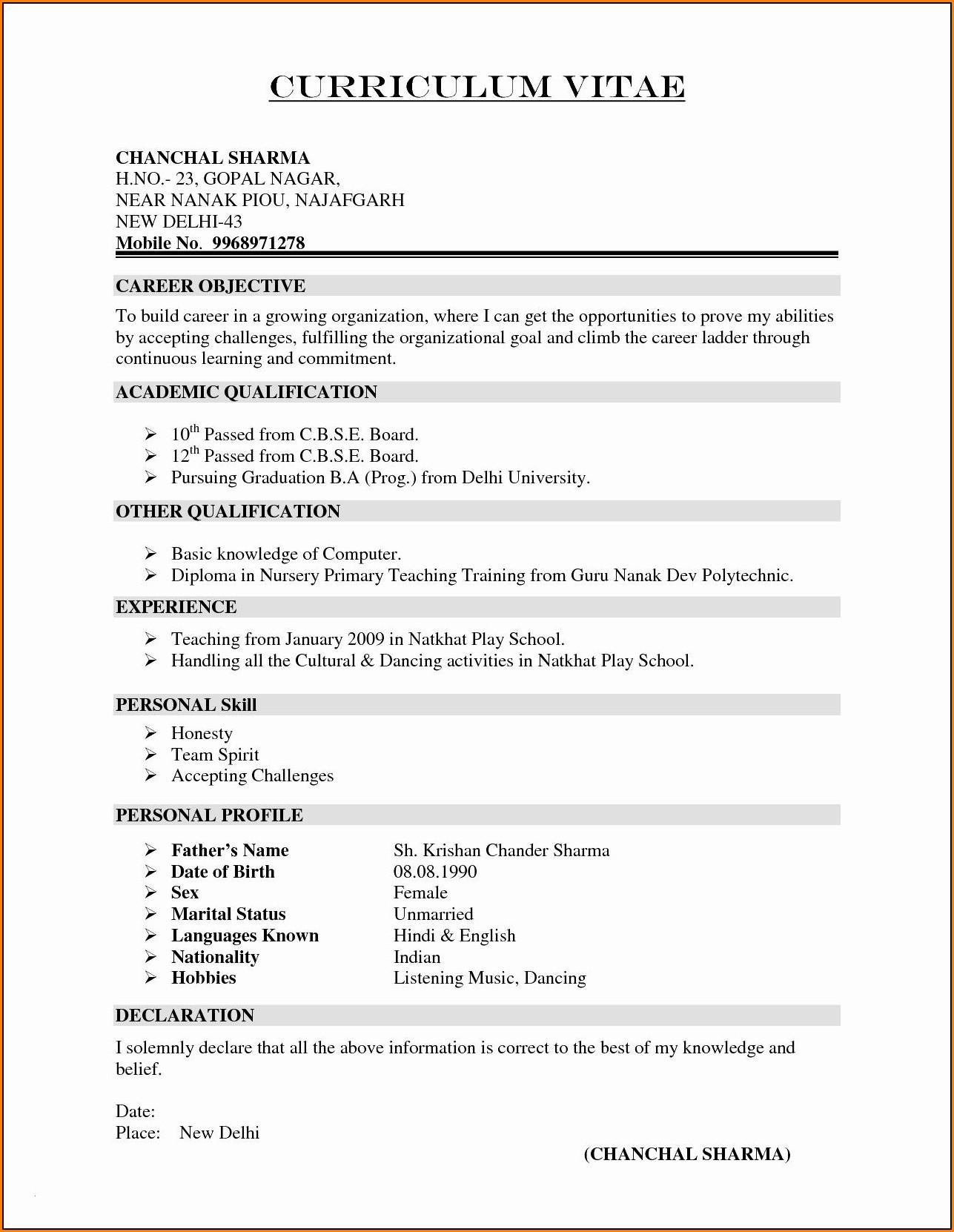 Infographic Resume Builder Free