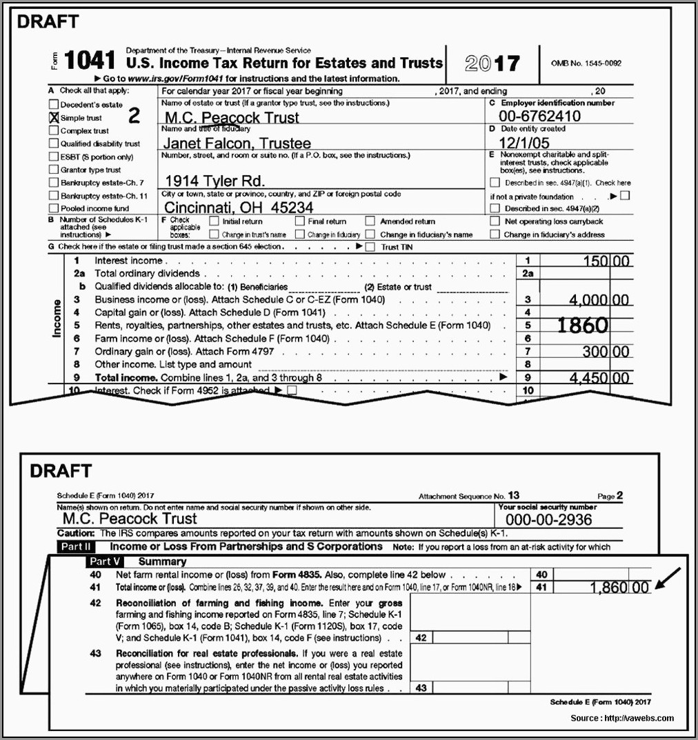 Irs Tax Form 1040ez 2017