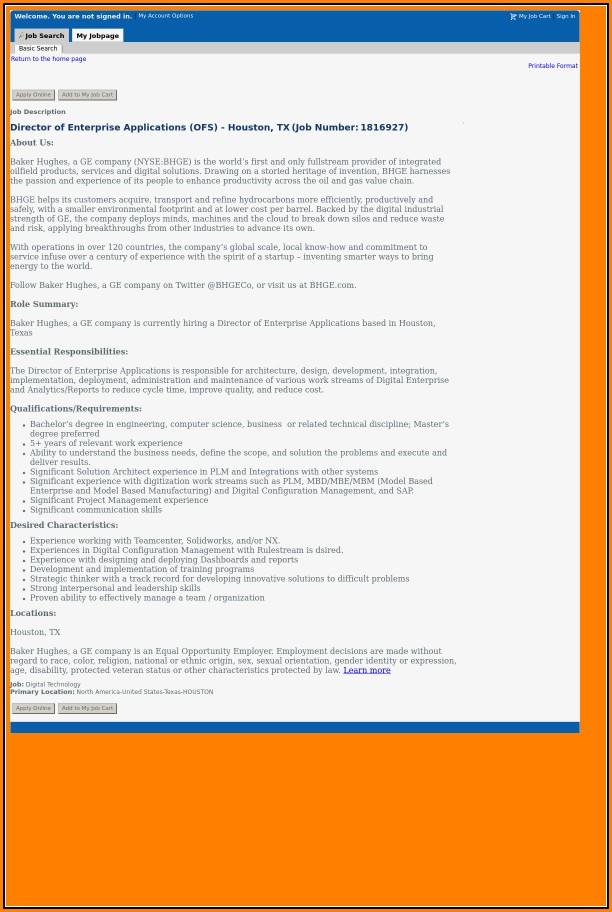 Job Applications In Houston Tx