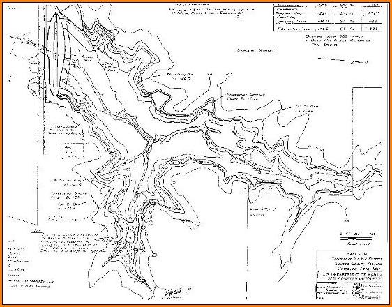 Lake Contour Maps Free