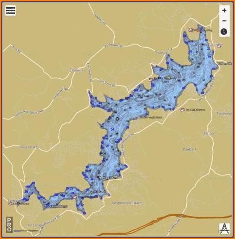 Lake Wallenpaupack Map