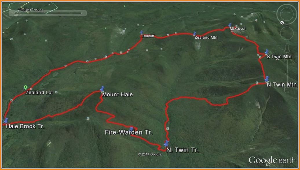 Maine Hiking Trail Maps