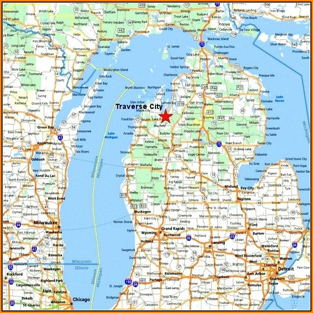 Map Of Macomb County Michigan Cities