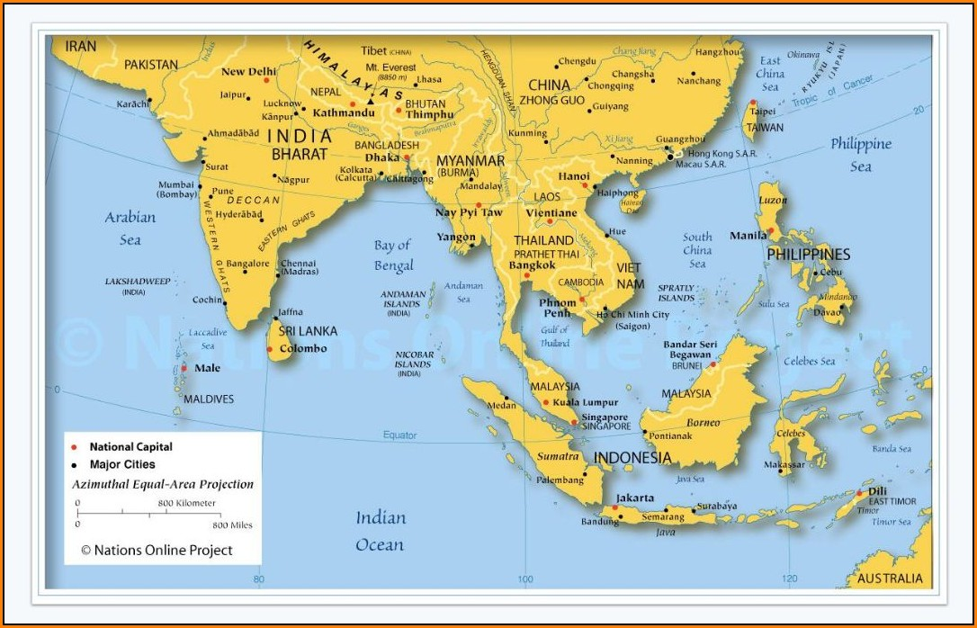 Maps Of Southeast Asia