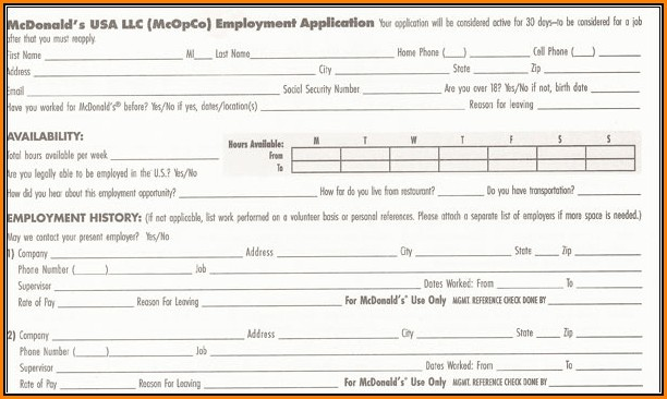 Mcdonalds Online Job Application Australia