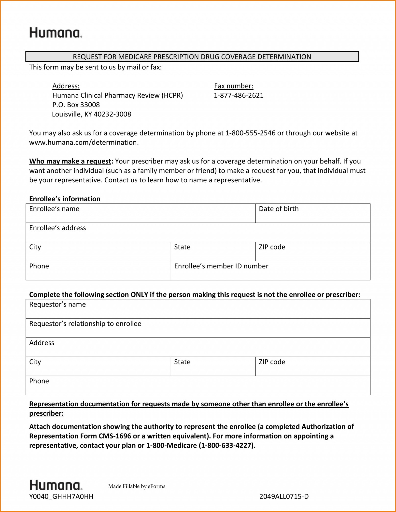 Medco Prior Authorization Form Medicare Part D