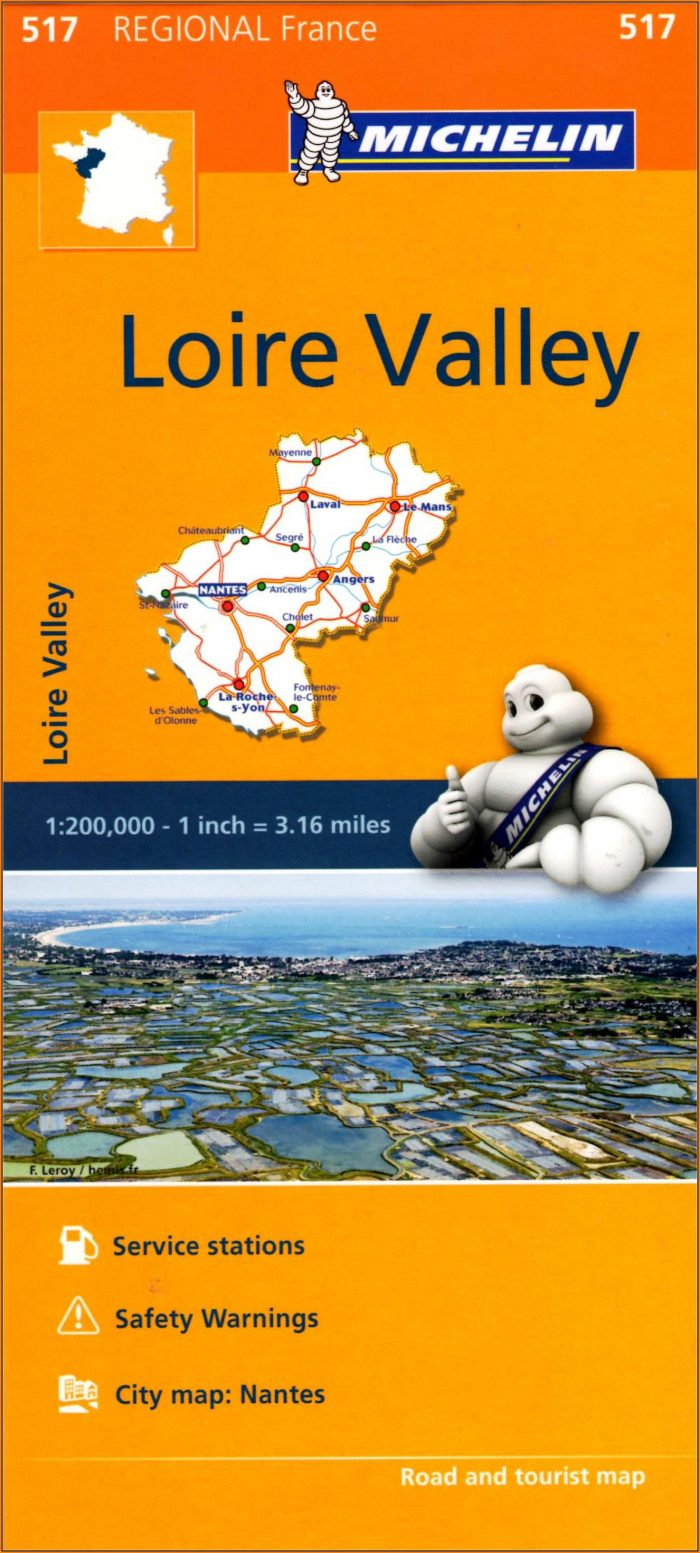 Michelin Regional Maps France