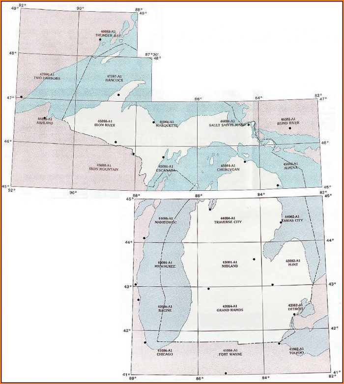 Michigan Topo Maps