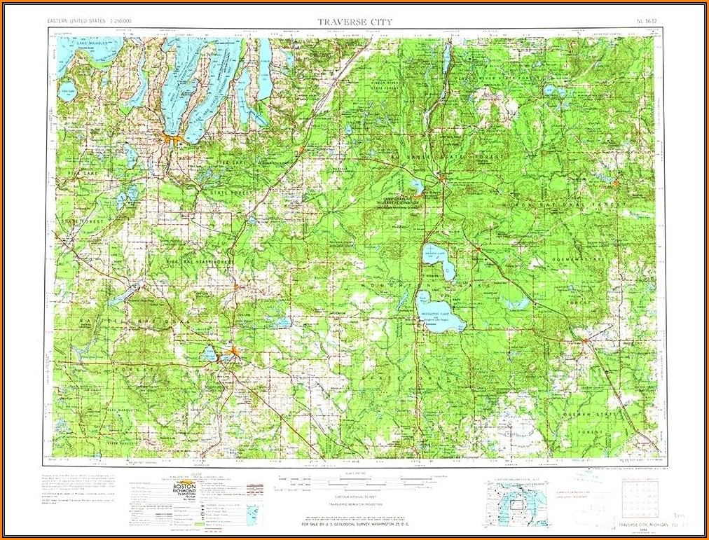 Michigan Topo Maps Garmin