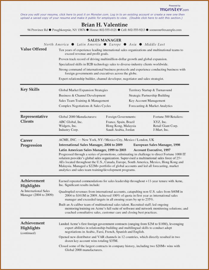 Monster Resume Services
