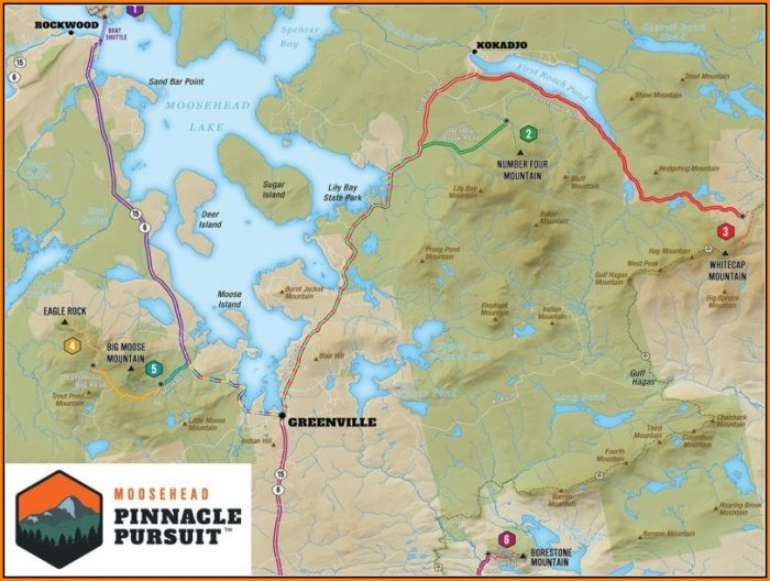 Moosehead Lake Map Pdf