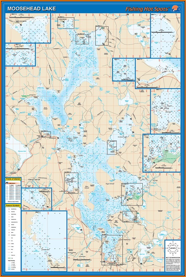 Moosehead Lake Map