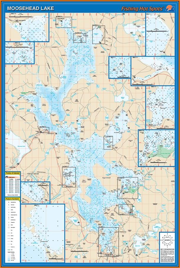 Moosehead Lake Map