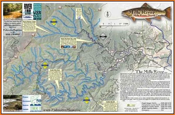 Nc Trout Fishing Maps