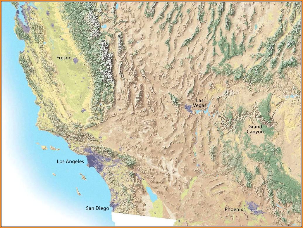 Nevada Topo Map