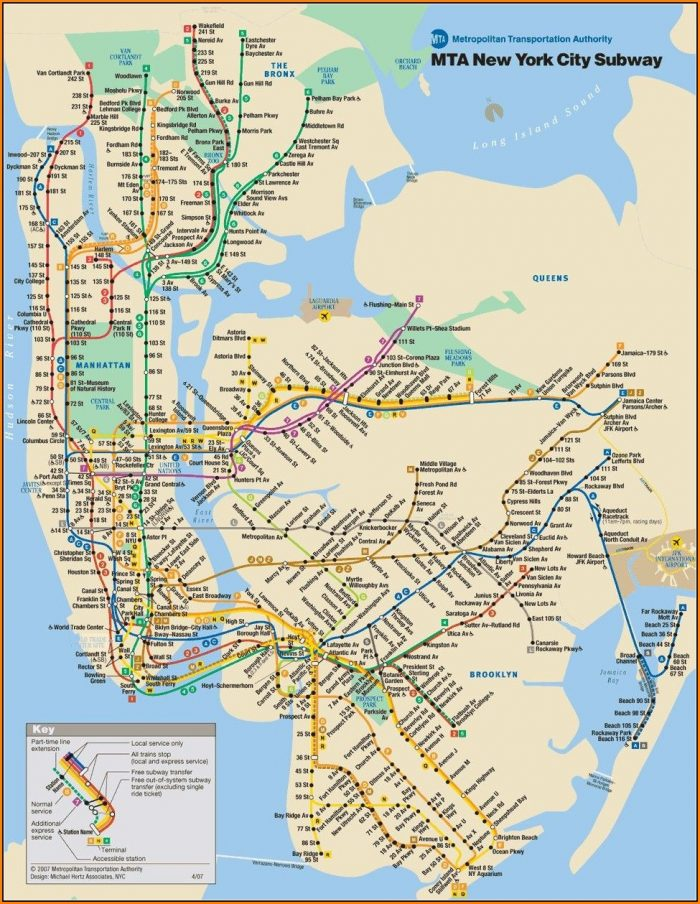 New York City Subway Maps