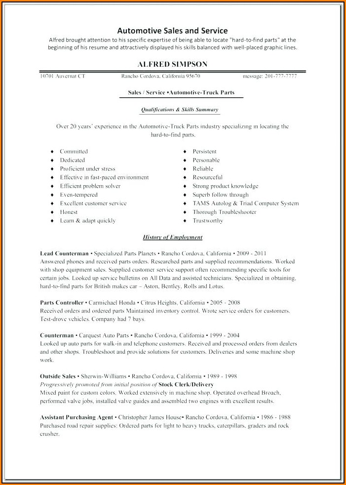 Online Resume Creator Pdf
