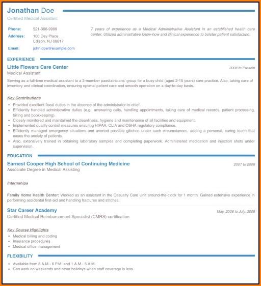 Online Resume Maker Pdf