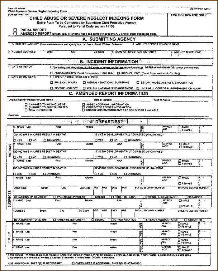 osha incident report form