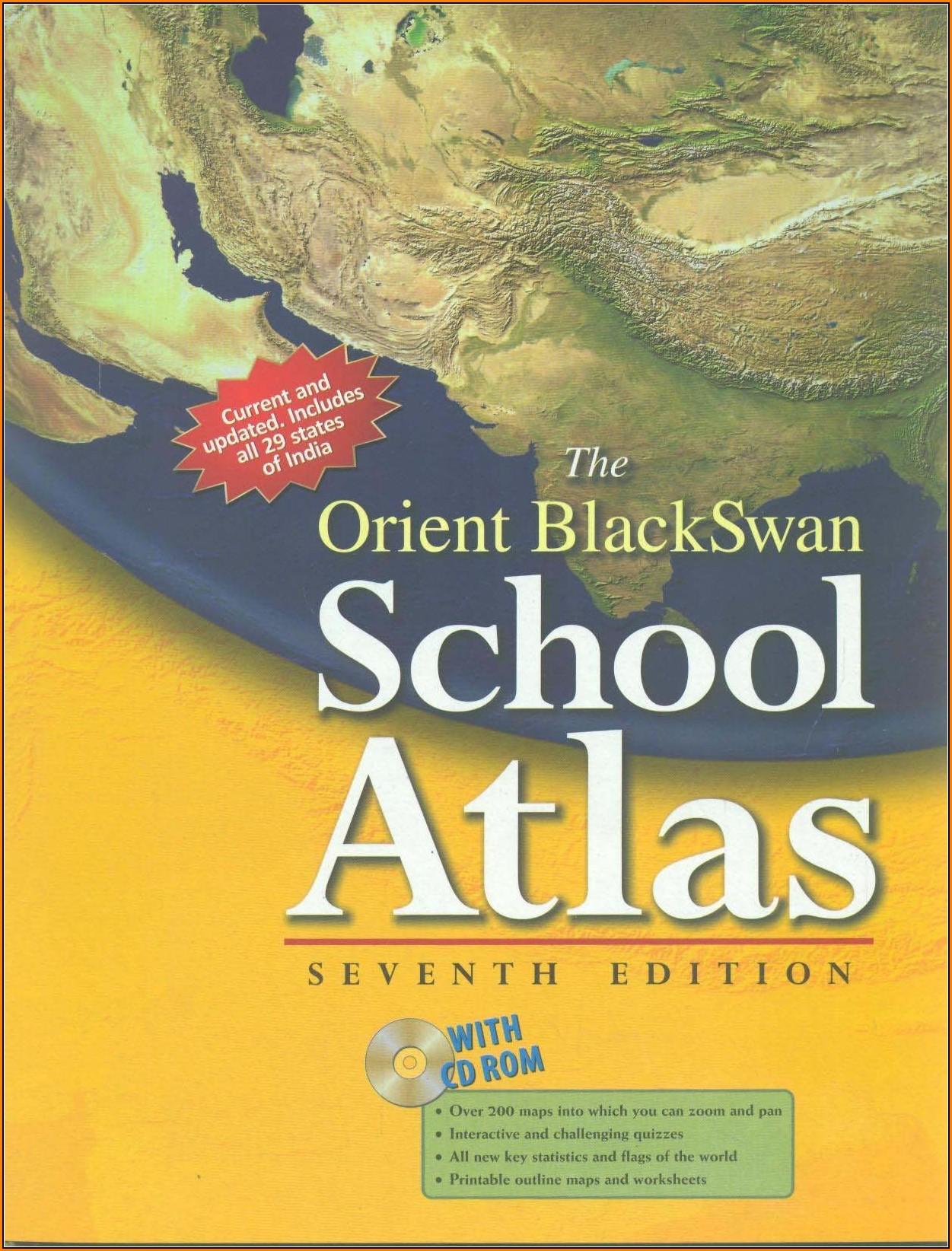 Oxford Atlas Map Book