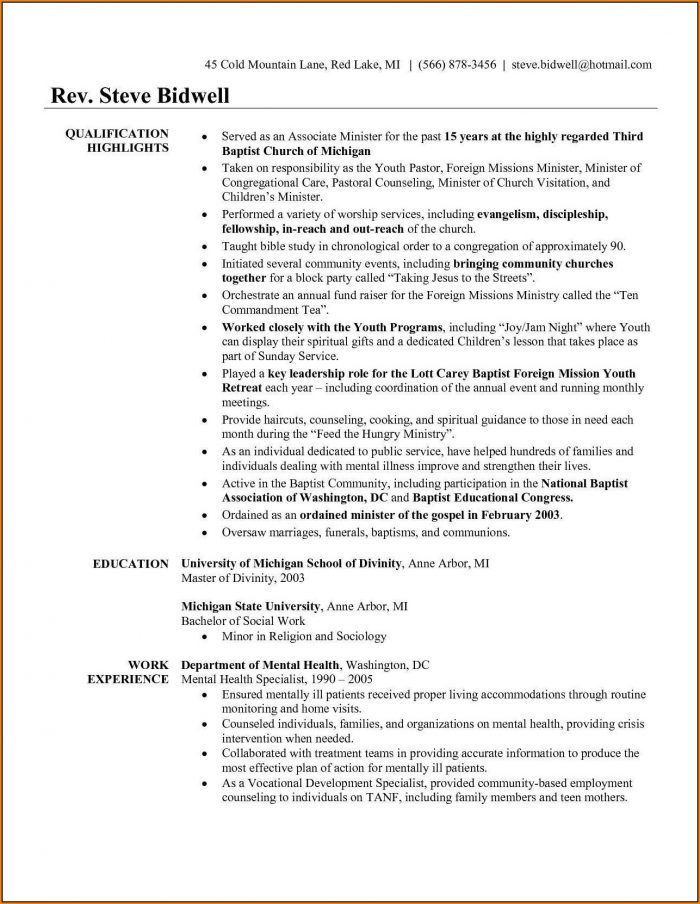 Pastor Appreciation Program Template Free Template 1 Resume